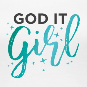 God It Girl - Turquoise - Women's Premium T-Shirt