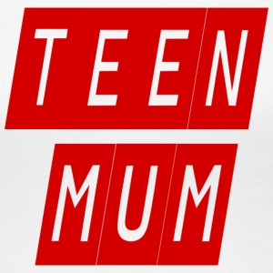 teen mum - Women's Premium T-Shirt