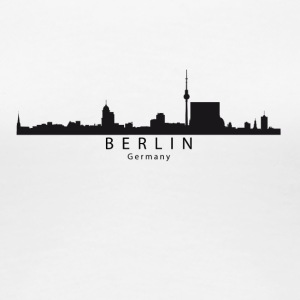Berlin Germany Skyline - Women's Premium T-Shirt