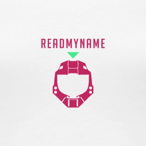 Red ReadMyName Emblem - Women's Premium T-Shirt