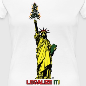 Cannabis of Liberty - Cannabis T-shirts, 420 wear - Women's Premium T-Shirt