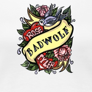 Badwolf Tattoo - Women's Premium T-Shirt