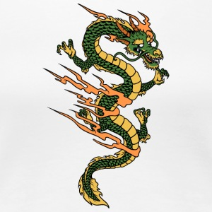 dragon_in_fire - Women's Premium T-Shirt