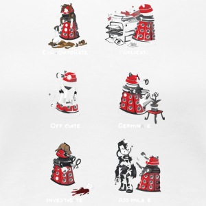 Busy Little Dalek - Women's Premium T-Shirt