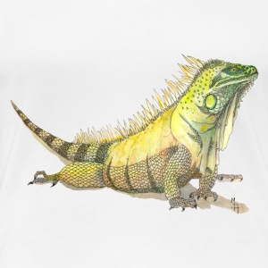 Watercolor Lizard - Women's Premium T-Shirt