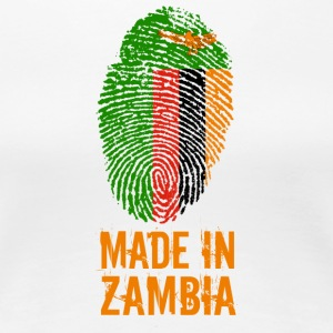 Made In Zambia - Women's Premium T-Shirt