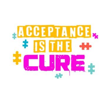 Live Love Cure Autism Women's T-Shirt - black