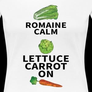 ROMAINE CALM LETTUCE CARROT ON