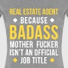 Badass Real Estate Agent Professions T-shirt - Women's Premium T-Shirt