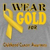 Childhood Cancer Awareness  - Women's Premium T-Shirt