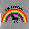 Unicorn rainbow are born in 2018 - Women's Premium T-Shirt