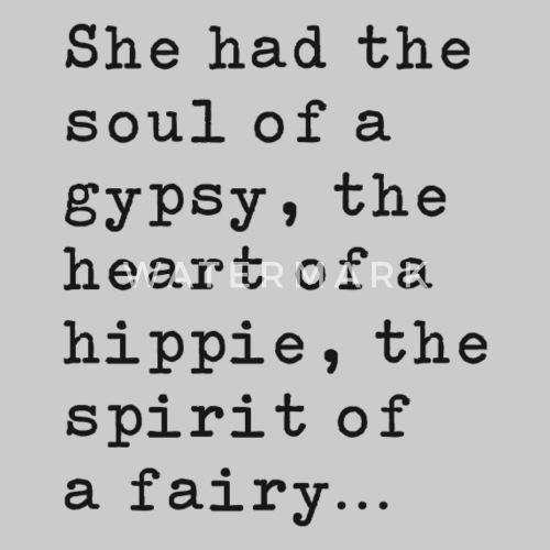99da242f083a7 Soul Of A Gypsy - Black Women s Premium T-Shirt