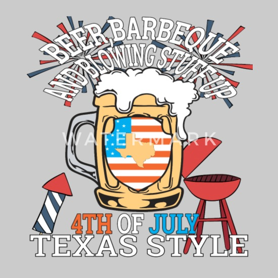99fb8820 Beer BBQ And Blowin Stuff Up 4th Of July Texas Women's Premium T ...