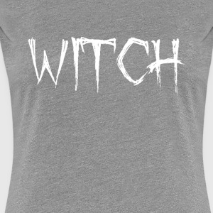 Funny Halloween Costume Simple Witch Shirt - Women's Premium T-Shirt
