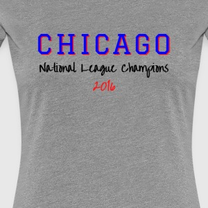 CHICAGO NATIONAL LEAGUE - Women's Premium T-Shirt