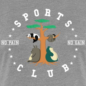Sports Club is this - Women's Premium T-Shirt