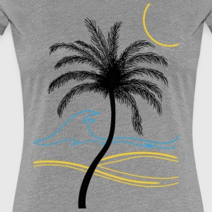 palm - Women's Premium T-Shirt