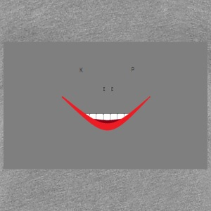 KEEP SMILINGASH - Women's Premium T-Shirt