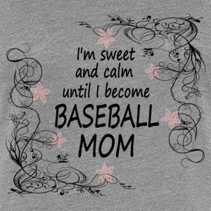 BASEBALL MOM2 - Women's Premium T-Shirt