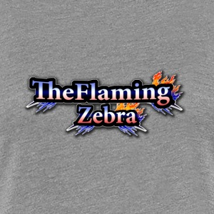 BIG TheFlamingZebra Logo - Women's Premium T-Shirt
