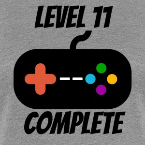Level 11 Complete 11th Birthday - Women's Premium T-Shirt