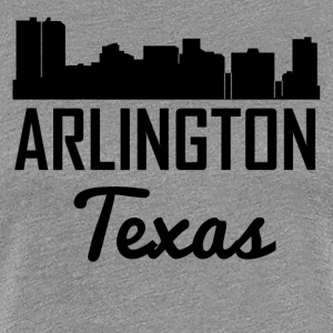 Arlington Texas Skyline - Women's Premium T-Shirt