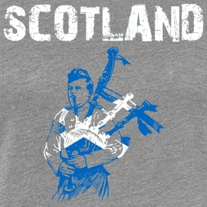 Nation-Design Scotland Bagpipe - Women's Premium T-Shirt