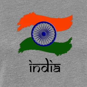 Indian Flag - Women's Premium T-Shirt