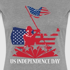 US Independence Day T Shirt - Women's Premium T-Shirt