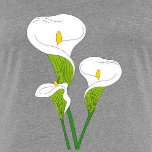 calla flower - Women's Premium T-Shirt