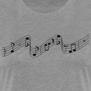 Music notes - Women's Premium T-Shirt