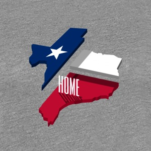 Texas USA Is My Home,Love Texas T-Shirt - Women's Premium T-Shirt