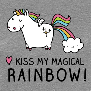 Kiss my magical rainbow - Women's Premium T-Shirt