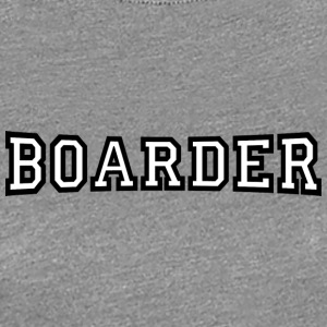 boarder - Women's Premium T-Shirt