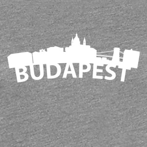 Arc Skyline Of Budapest Hungary - Women's Premium T-Shirt