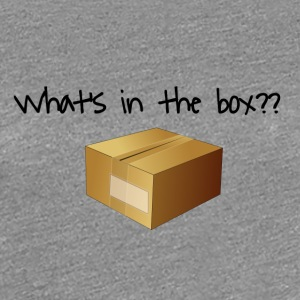What's in the Box? - Women's Premium T-Shirt