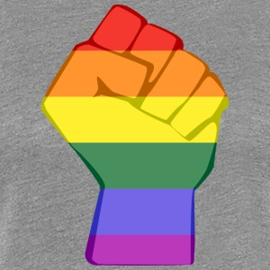 LGBT FIST - Women's Premium T-Shirt
