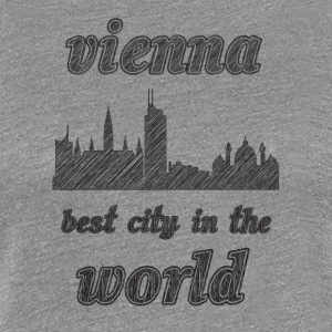 Vienna Best city in the world - Women's Premium T-Shirt