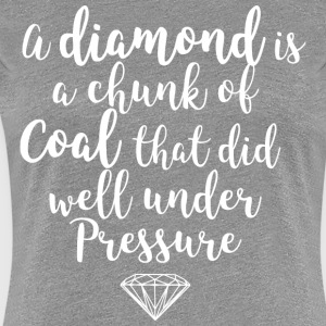 diamond white - Women's Premium T-Shirt