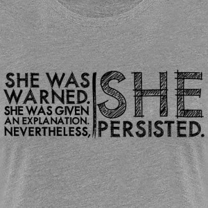 Nevertheless She Persisted #LetLizSpeak