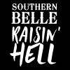 Southern Belle Raisin' Hell - Women's Premium T-Shirt