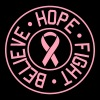 Believe, Hope, Fight. Breast Cancer - Women's Premium T-Shirt