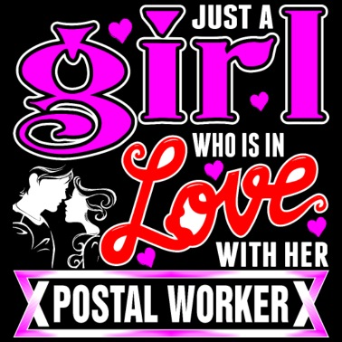 A Girl Love With Her Postal Worker - Women's Premium T-Shirt