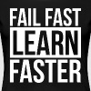 FAIL FAST LEARN FASTER QUOTE MOTIVATION - Women's Premium T-Shirt