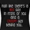HOT AND CREEPY GUY - Women's Premium T-Shirt