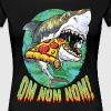Great White Shark Pizza - Women's Premium T-Shirt