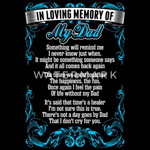 My Dad Dads And Father In Memory Of: In Loving Memory Of My Dad By Adi111