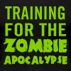 Training for the zombie apocalypse - Women's Premium T-Shirt