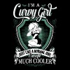 Curvy girl - Like normal girl sexcept much cooler - Women's Premium T-Shirt