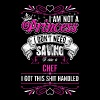 Im Not A Princess Im A Chef - Women's Premium T-Shirt